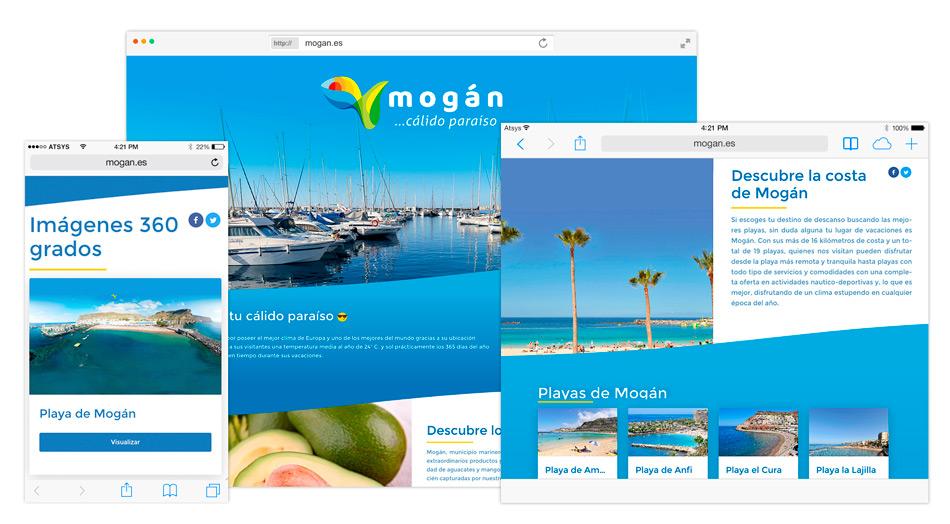 Página web a medida en Canarias