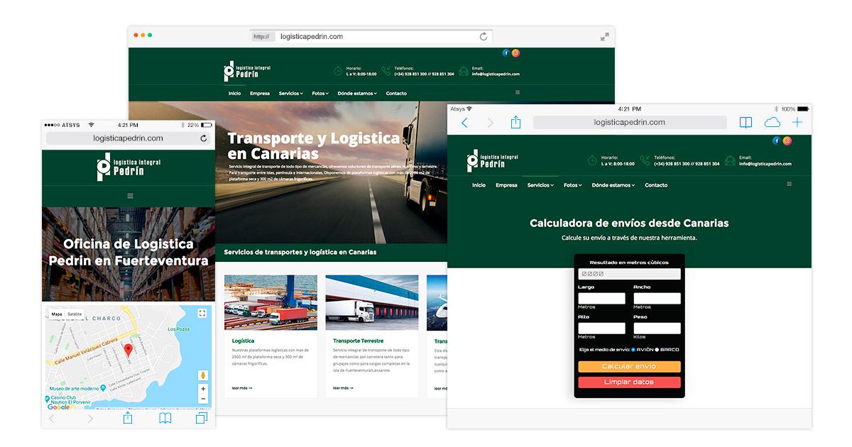 Diseño de página web responsive en fuerteventura