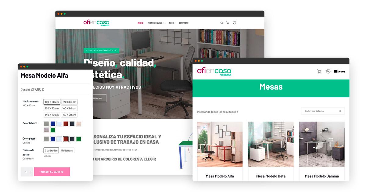 Diseño de Tienda online con WooCommerce