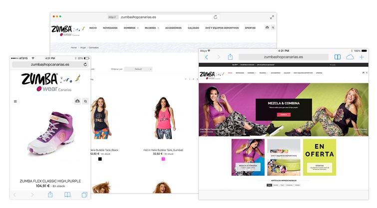 Tienda Online Zumba Canarias