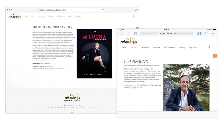 Diseño web Fuerteventura - ZK