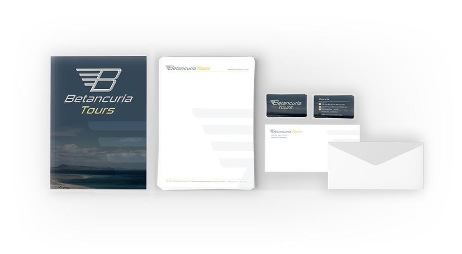 Diseño tarjetas de visita, imagen corporativa en fuerteventura