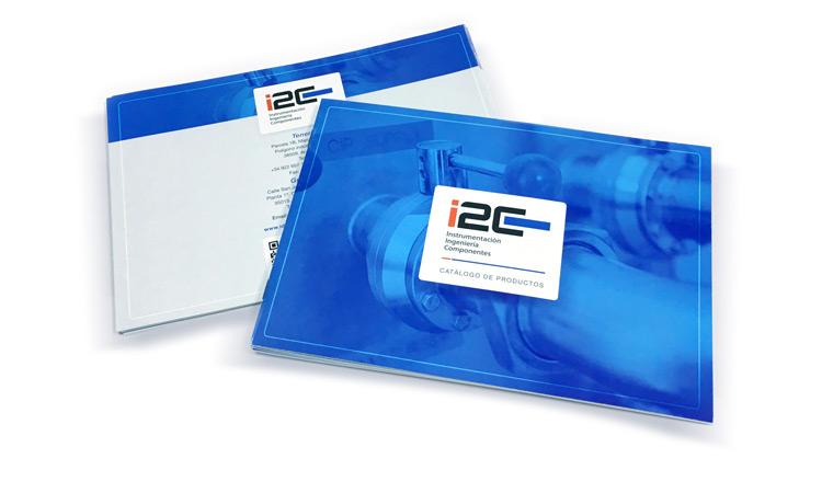Diseño de catálogo para empresa I2C
