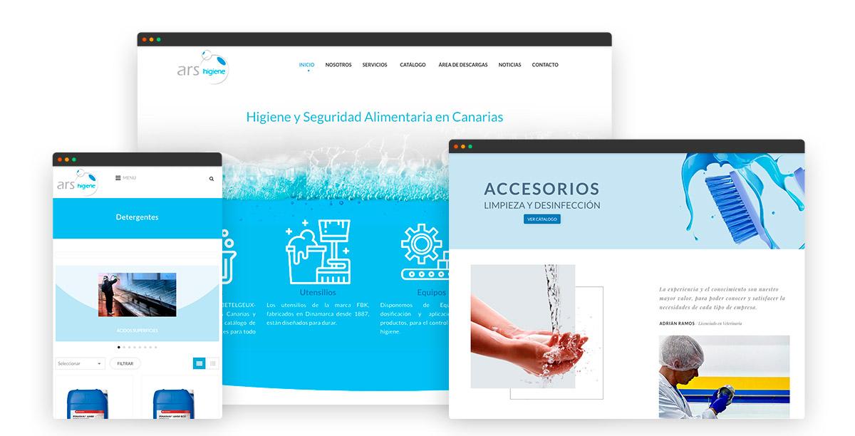 Ars Higiene - Tienda Online modo catalogo