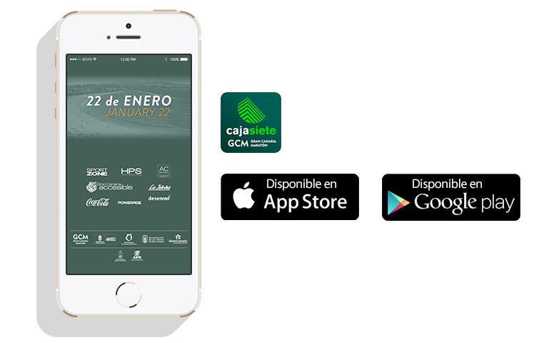 Diseño App Gran Canaria Maratón 2017