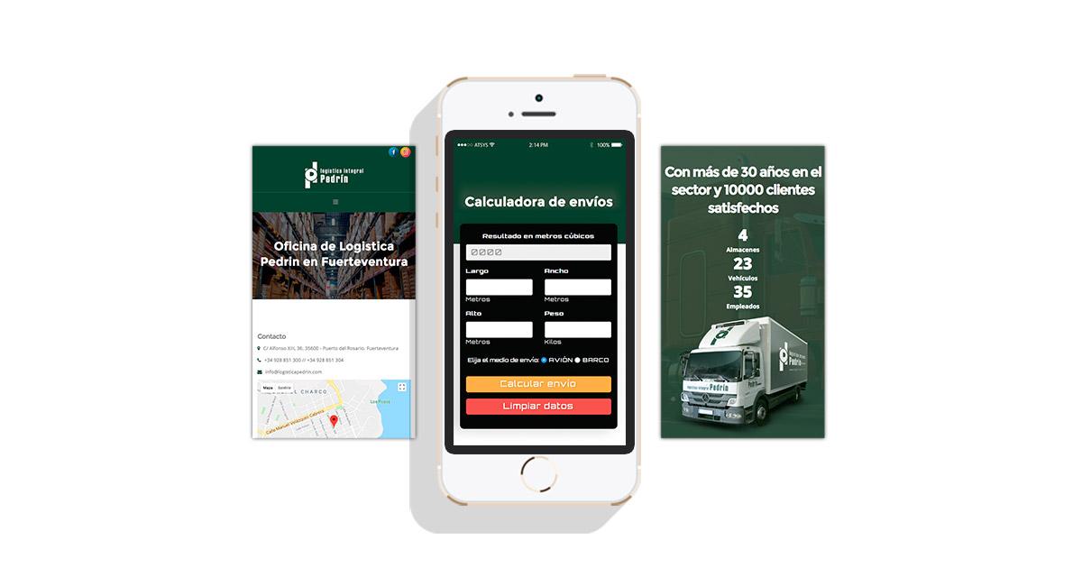 Aplicación web en fuerteventura