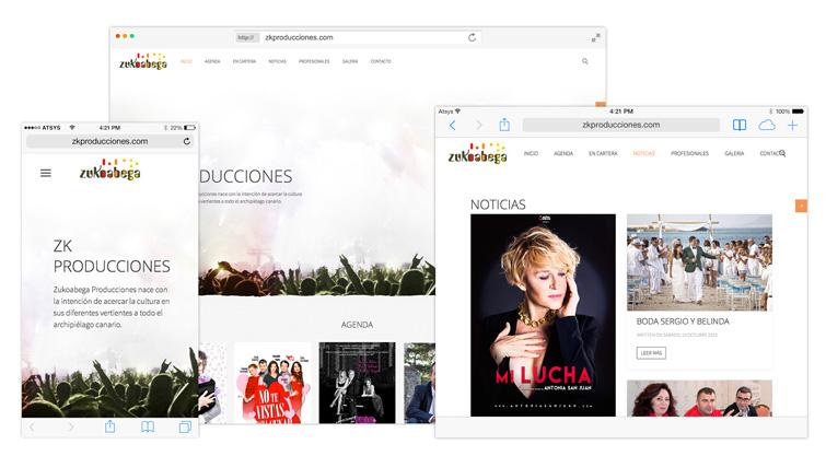 Diseño Web Fuerteventura Zukoabega