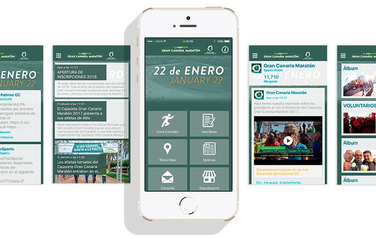 Mantenimiento App Gran Canaria Maratón 2017