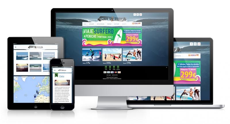 Diseño web en Canarias, reserva en los mejores SurfCamps a un sólo clic