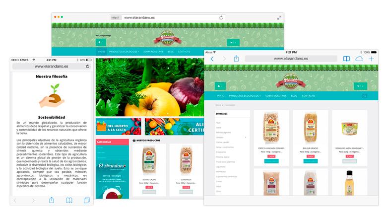 Diseño de tienda online con prestashop en las palmas