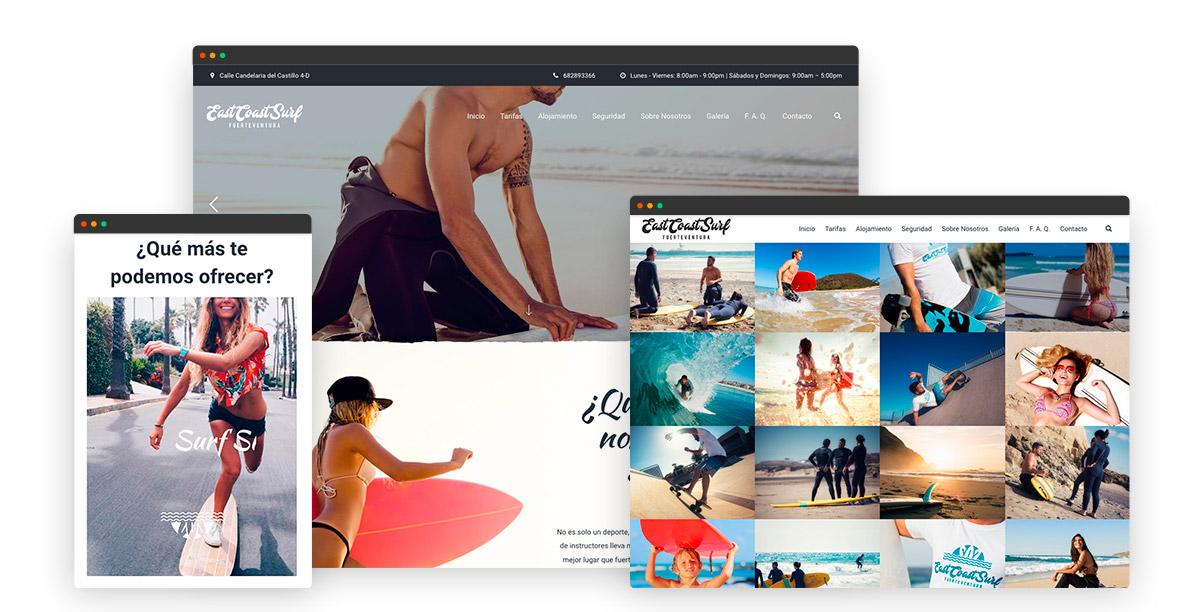 diseño web en wordpress en fuerteventura