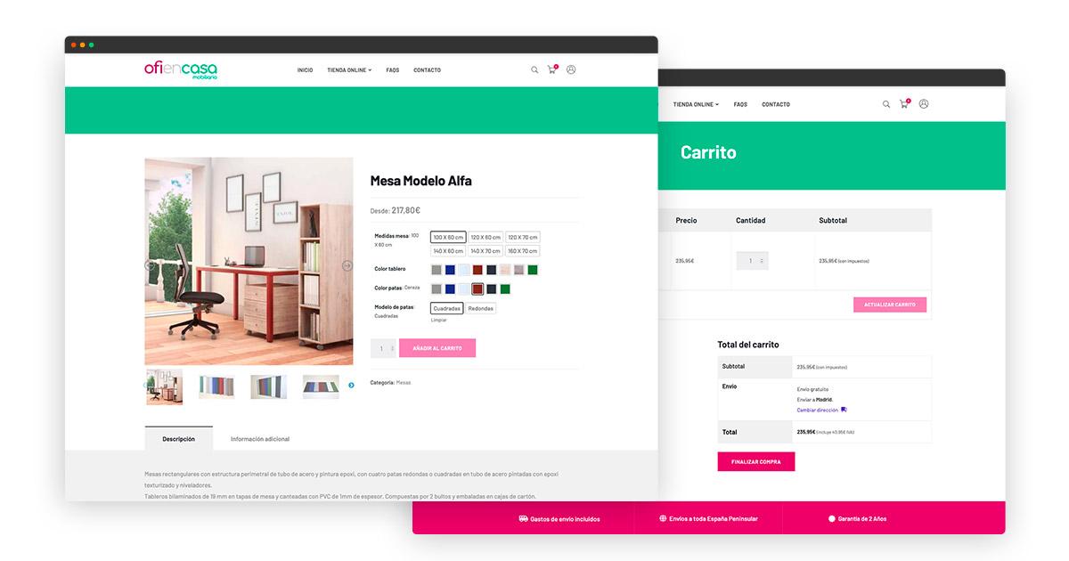 diseñador tienda online con Wordpress