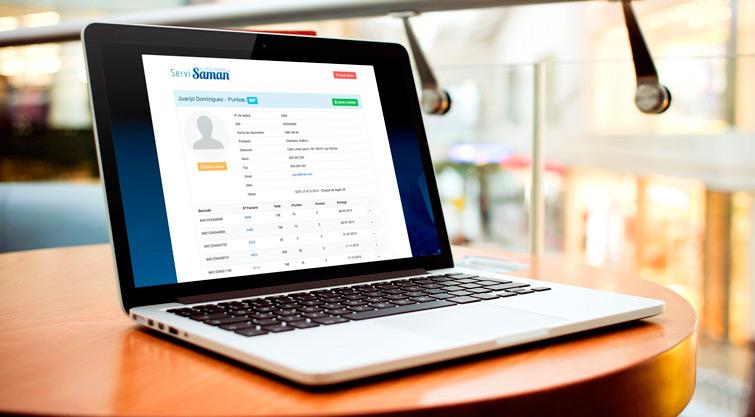 Servisaman - Aplicación web