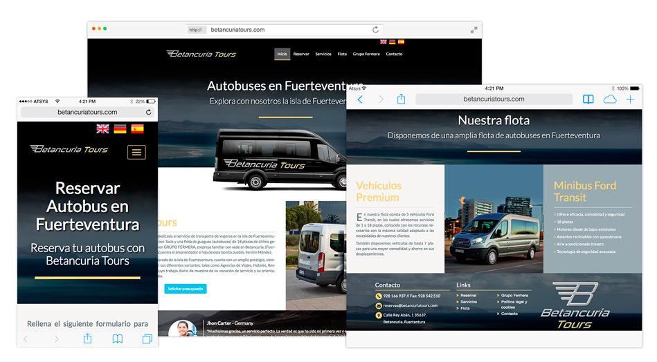 Diseño página web en fuerteventura