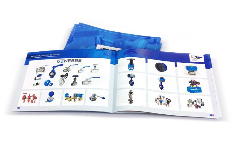 Diseño e impresión de catálogo de calidad