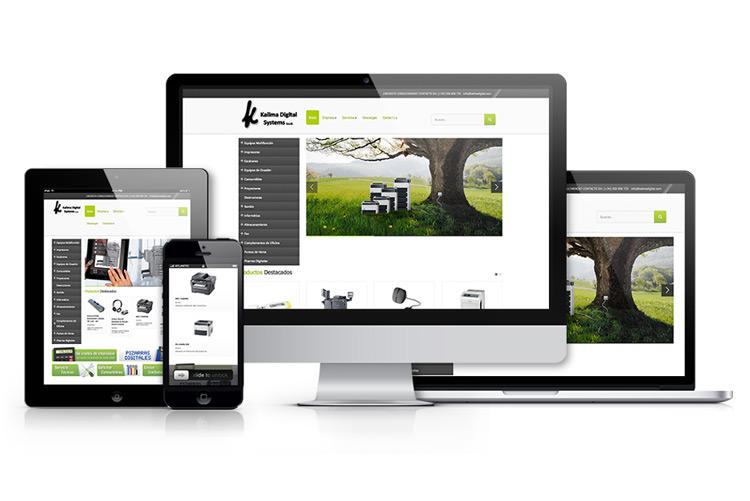 Kalima - Diseño web Puerto del Rosario