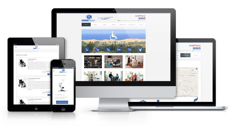 Diseño web en Maspalomas: Servicios Globales