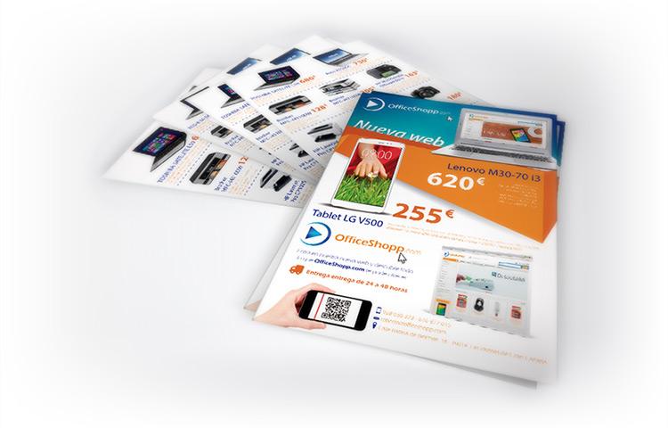 OfficeShopp - Diseño de Flyer Las Palmas
